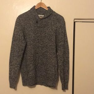 Old Navy Black & White Sweater Size: M